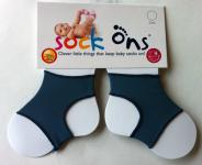 Sock Ons blueberry 6-12 Monate