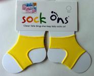 Sock Ons gelb