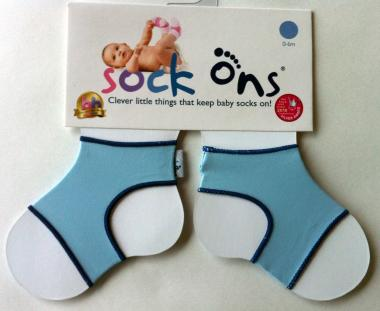 Sock Ons hellblau