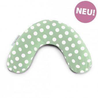 """Babylagerungskissen mit Baumwollbezug """"indie dots grün"""""""