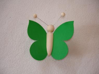 Schmetterling dunkelgrün