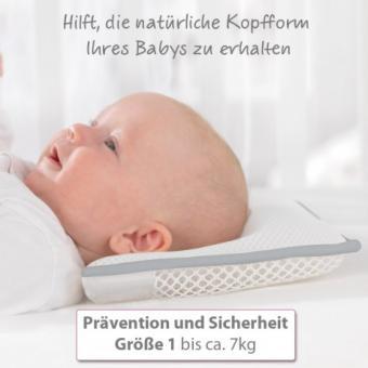 Baby-Kopfkissen Grösse 1 von Theraline bis ca 7 Kilo