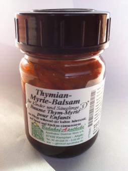 Thymian-Myrte-Balsam für Kinder/Schwangere 50ml