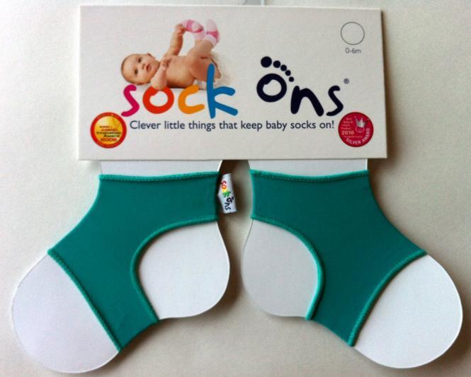 Sock Ons türkis