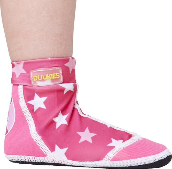 "Duukies Beachsocks ""Pink Star"""