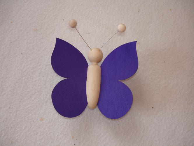 Schmetterling violett